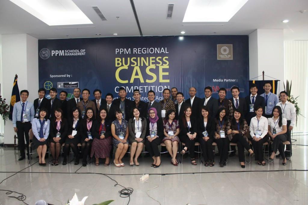 Photos The Finalists The PPM 2nd Regional Business Case Competition in 2011