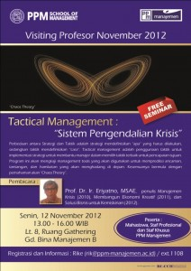 Visiting Prof - Tactical Management (final)
