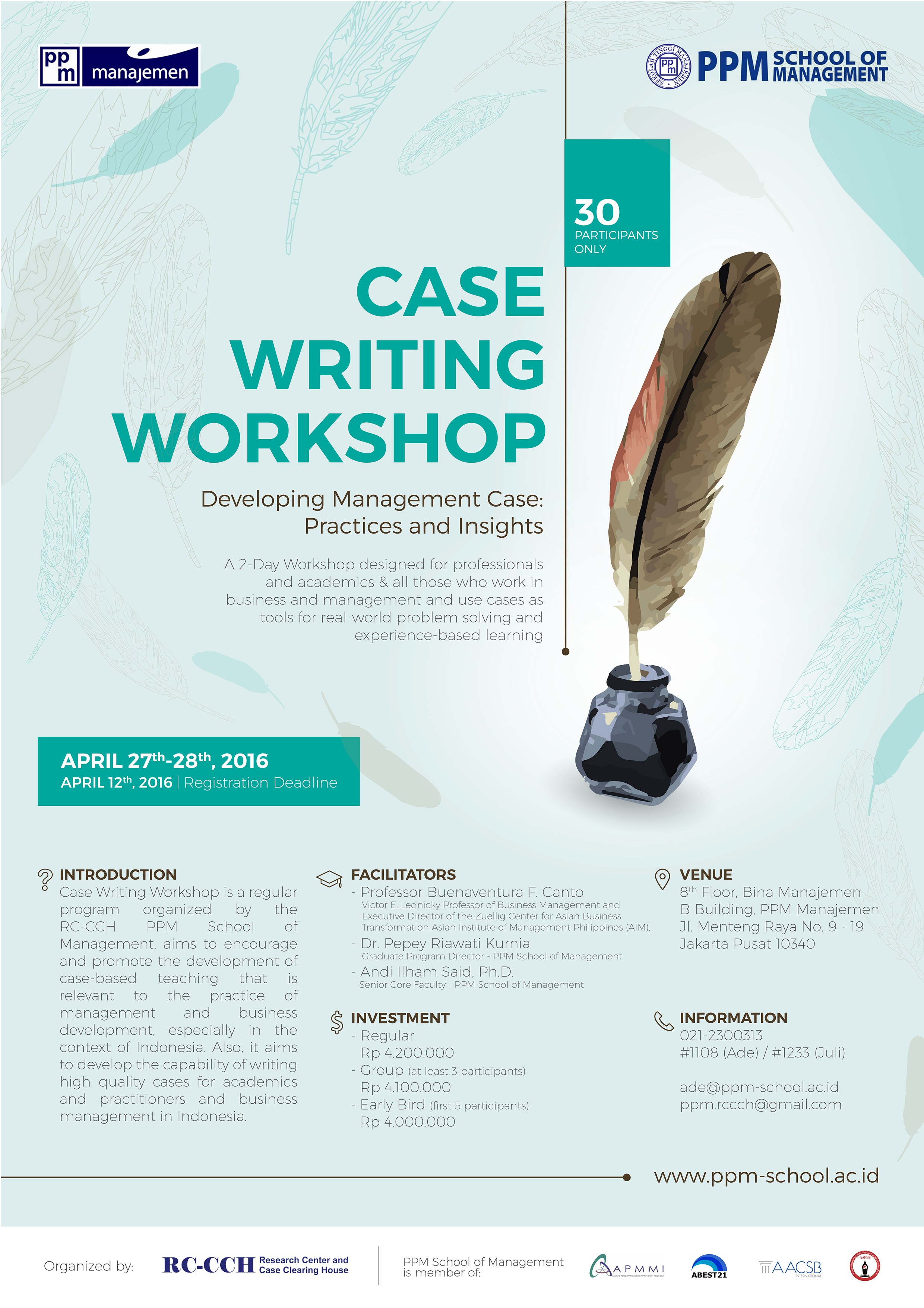 19th CEEMAN Case Writing Competition – in partnership with Emerald